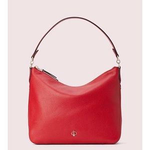 Kate Spade Polly Medium Red Convertible Bag NWT